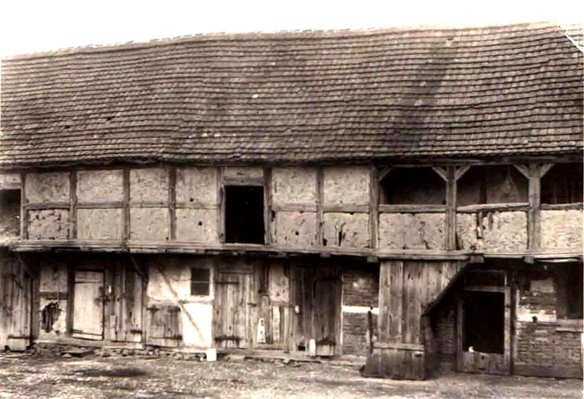 Der Stall war bis in 80ziger Jahren des 20.Jahrhunderts die vierte Seite des Vierseithofes