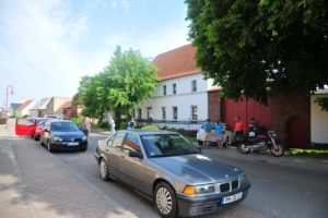 Dorfstraße in Linthe