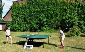 Tischtennismatch...