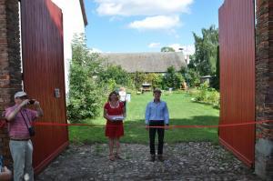 Eröffnung Kunstscheune die Hausherren Katrin & Jan