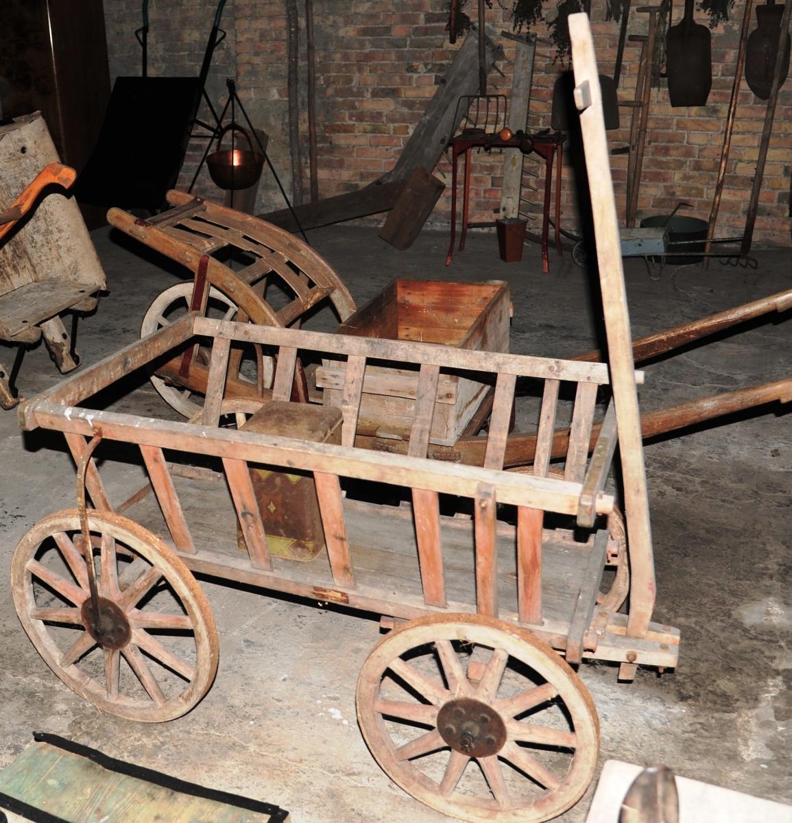 Handwagen Leiterwagen