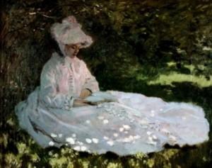 Claude Monet Lesende Frau