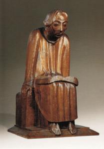 E. Barlach Lesender Klosterschüler