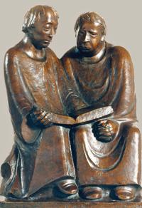 Ernst Barlach Lesende Mönche