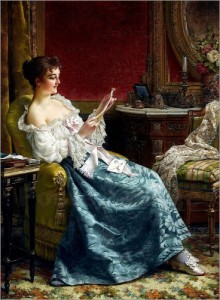 Lesende Frau 2